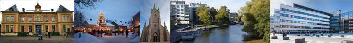 Εικόνες από την πόλη Linköping